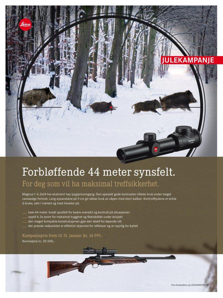 Julekampanje Leica Magnus 1-6.3x24 L-4a